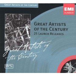 Great artists of the century 25 launch releases